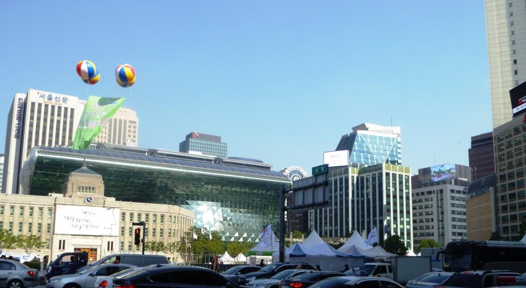 Seoul, city hall area