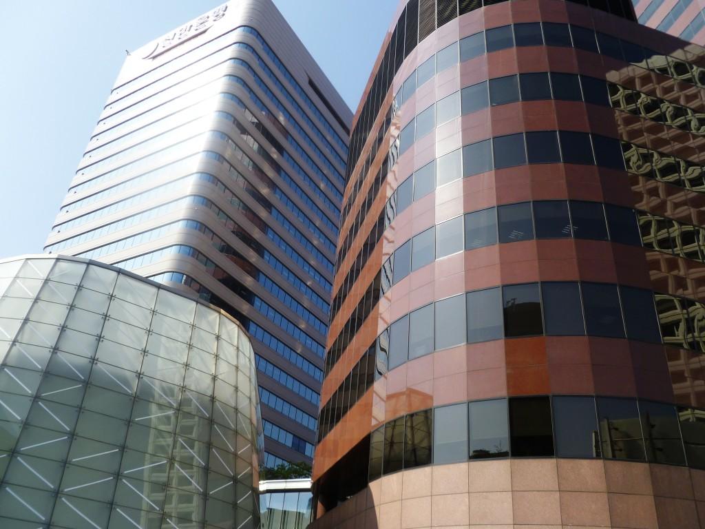 Seoul skyscrapers