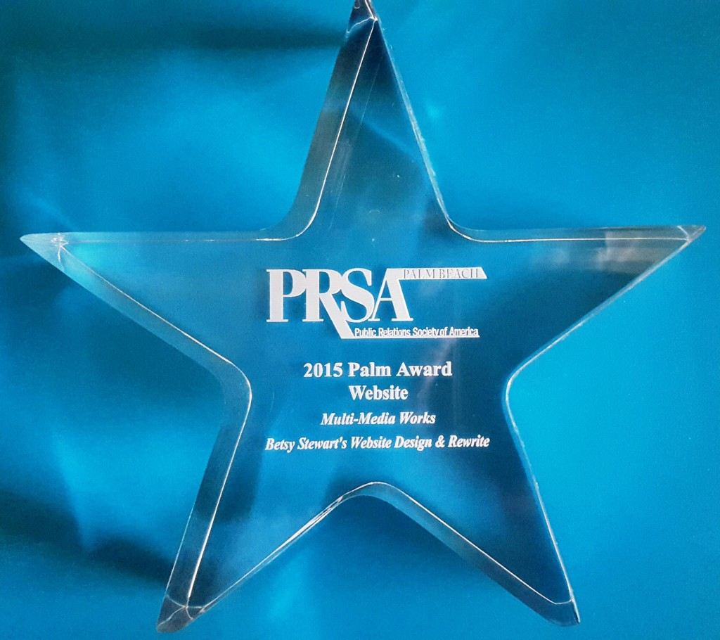 Palm Award Website