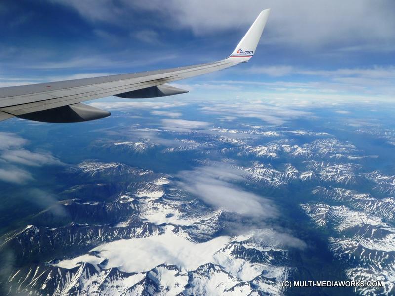 Chugach Mts. From Plane